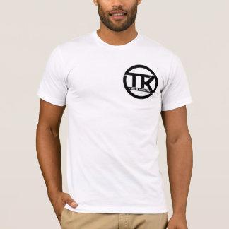 チームKinetik -白 Tシャツ