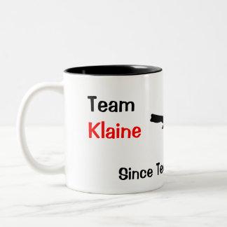 チームKlaine ツートーンマグカップ