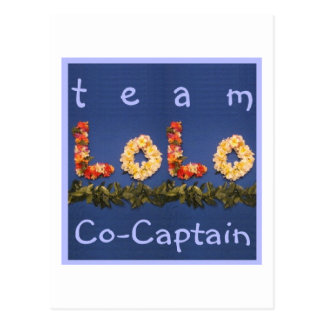 チームLoloの共同キャプテン ポストカード