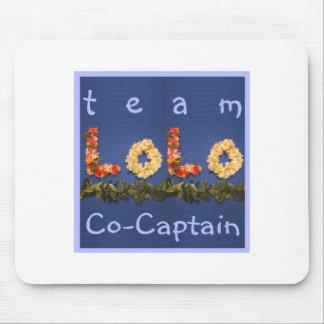 チームLoloの共同キャプテン マウスパッド