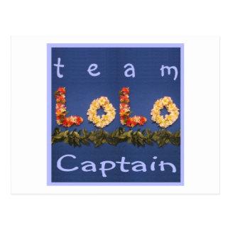チームLoloの大尉 ポストカード