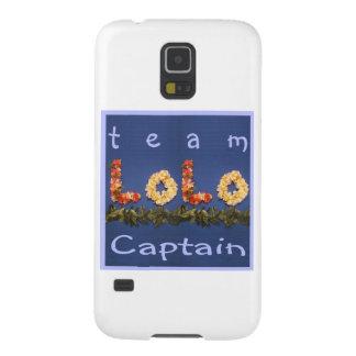 チームLoloの大尉 Galaxy S5 ケース