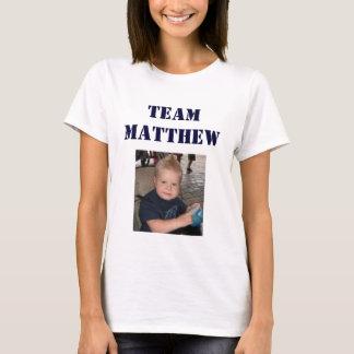 チームMatthew -大人女性 Tシャツ