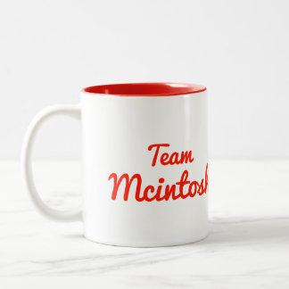 チームMcintosh ツートーンマグカップ