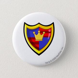 チームMeridellのロゴ 5.7cm 丸型バッジ