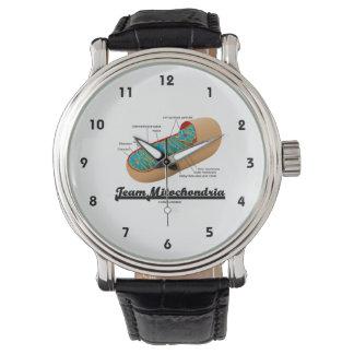 チームMitochondria (Mitochondrionのユーモア) 腕時計