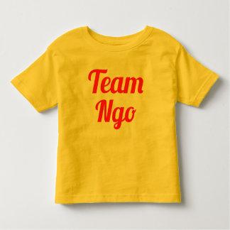 チームNgo トドラーTシャツ