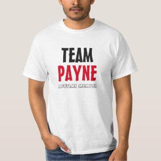 チームPayneの寿命会員 Tシャツ