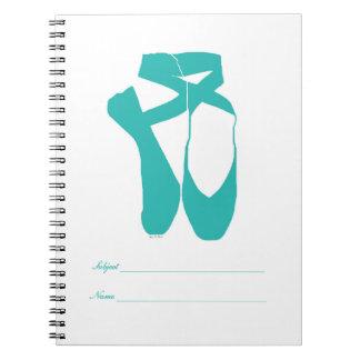 チームPointeのバレエの水 ノートブック