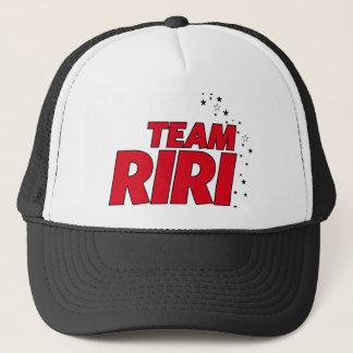 チームRiRiの帽子 キャップ