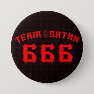 チームSatan 666 7.6cm 丸型バッジ
