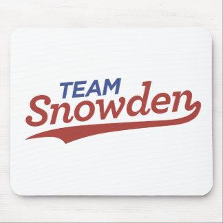 チームSnowdenの原稿 マウスパッド