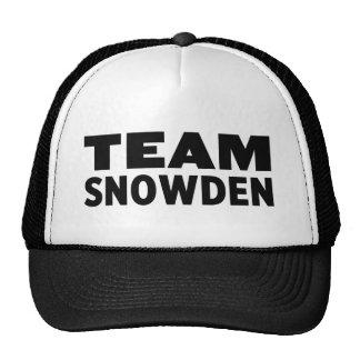 チームSnowden トラッカー帽子