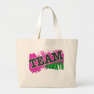 チームSOMAYA -緑 ラージトートバッグ
