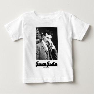チームTesla (ニコラ・テスラ) ベビーTシャツ