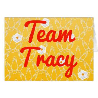 チームTracy カード