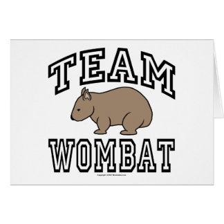 チームWombat カード