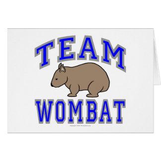 チームWombat II カード