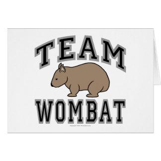 チームWombat V カード