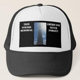 ツインタワーの帽子 キャップ