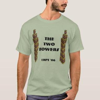 ツインタワー0 Tシャツ
