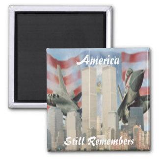 ツインタワー9/11の記憶の磁石 マグネット