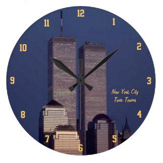 ツインタワー ラージ壁時計
