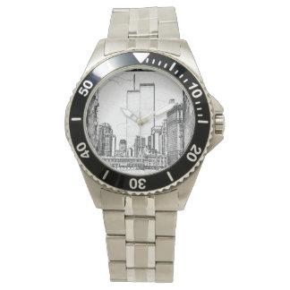 ツインタワー 腕時計
