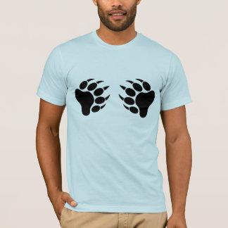 ツキノワグマのプライドくま爪(r) tシャツ