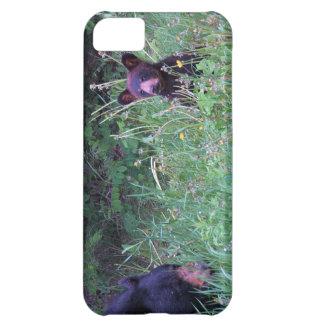 ツキノワグマの野性生物のテーマ iPhone5Cケース