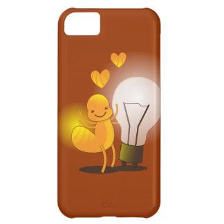 ツチボタル! ライト地球を使ってすごいかわいい! iPhone5Cケース