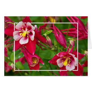 ツツジの花 カード