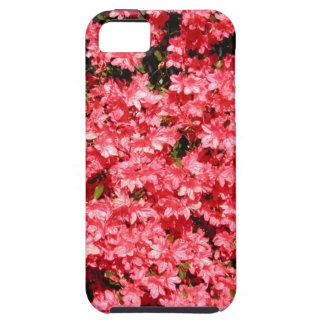 ツツジ。 かわいらしいピンクの花の多く iPhone SE/5/5s ケース
