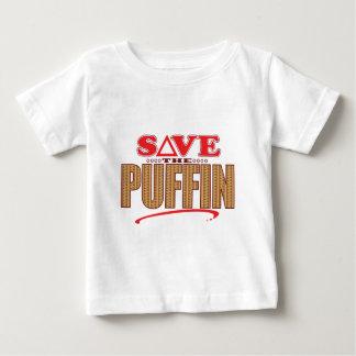 ツノメドリの保存 ベビーTシャツ