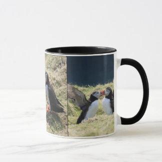 ツノメドリの議論のマグ マグカップ