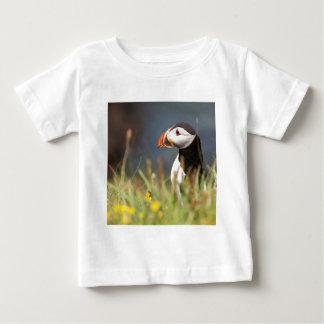 ツノメドリ ベビーTシャツ