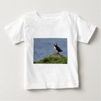 ツノメドリA ベビーTシャツ