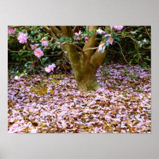 ツバキの秋 ポスター