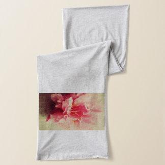 ツバキの花のスカーフ スカーフ