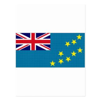 ツバルの国旗 ポストカード