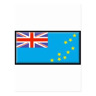 ツバルの旗 ポストカード