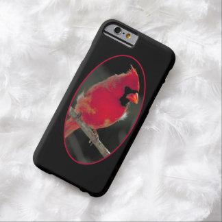 ツリーブランチでとまる赤い(鳥)ショウジョウコウカンチョウ BARELY THERE iPhone 6 ケース