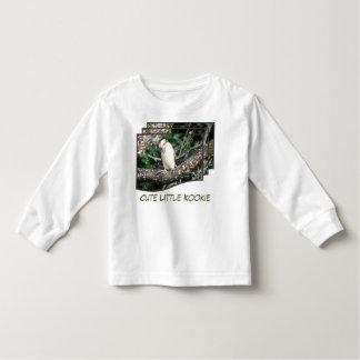 ツリーブランチに坐るKookaburra トドラーTシャツ