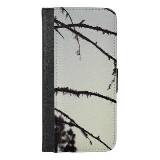 ツリーブランチのシルエット iPhone 6/6S PLUS ウォレットケース