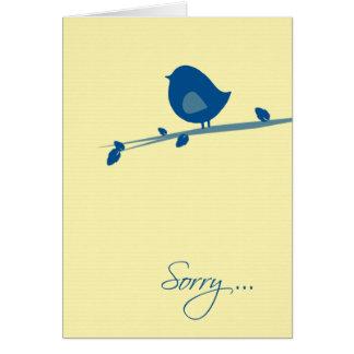 ツリーブランチの残念なあなたは感じない十分鳥 カード
