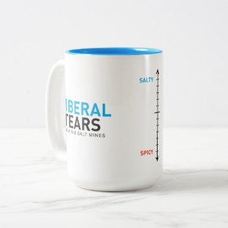ツートーンマグ15oxの自由主義者はメートルを引き裂きます ツートーンマグカップ
