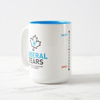 ツートーンマグ15oxの自由主義者はメートルカナダを引き裂きます ツートーンマグカップ