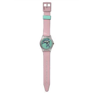 ツートーンVirescentイルカ 腕時計
