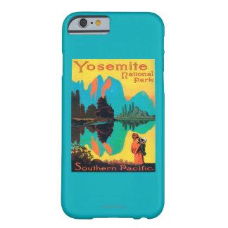 ツーリストポスター-ヨセミテ国立公園、カリフォルニア BARELY THERE iPhone 6 ケース