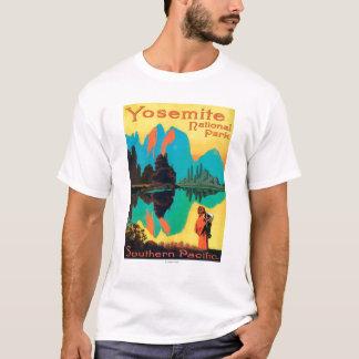 ツーリストポスター-ヨセミテ国立公園、カリフォルニア Tシャツ